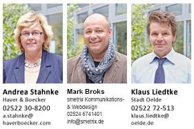 Marion Broks, Andrea Stahnke, Klaus Liedtke