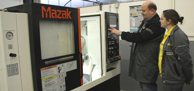 Neue CNC Drehmaschine für Hammelmann Lehrwerkstatt