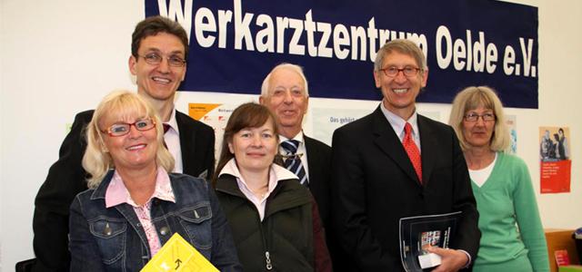 Rückblick – Werkarztzentrum auf der mach mit 2012