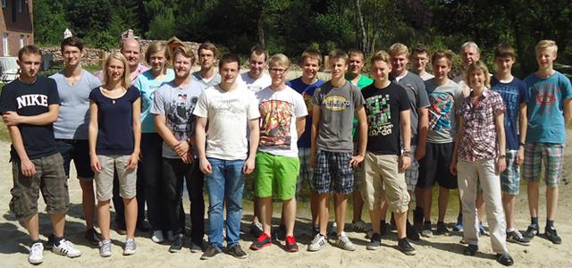 Azubitour 2012 bei Hammelmann
