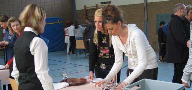 Berufsparcours an der Kettelerschule Beckum