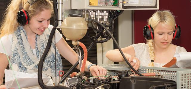 Berufswelt der Ingenieurinnen entdecken
