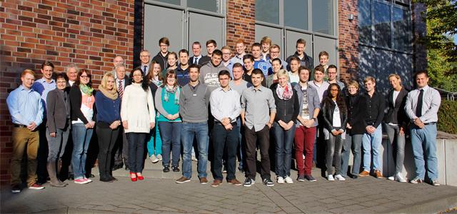 32 junge Leute starten ihr Studium am Standort Oelde