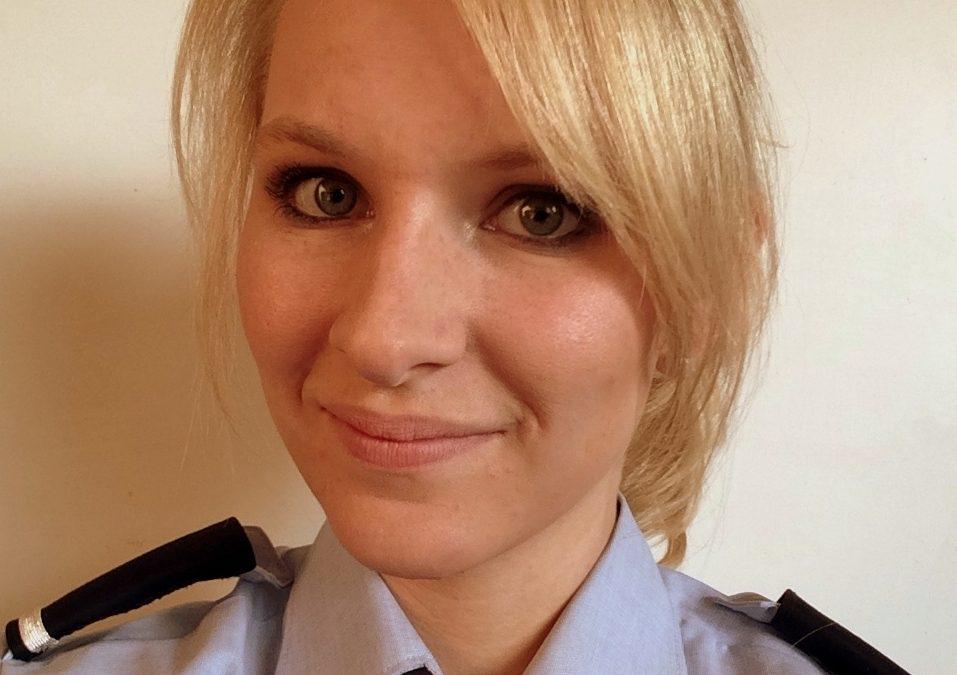 Interview mit der angehenden Polizeibeamtin Anna-Lena Waltermann