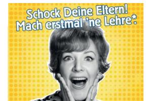"""Die IHK Nord Westfalen hilft dir weiter: """"Schock Deine Eltern!"""""""