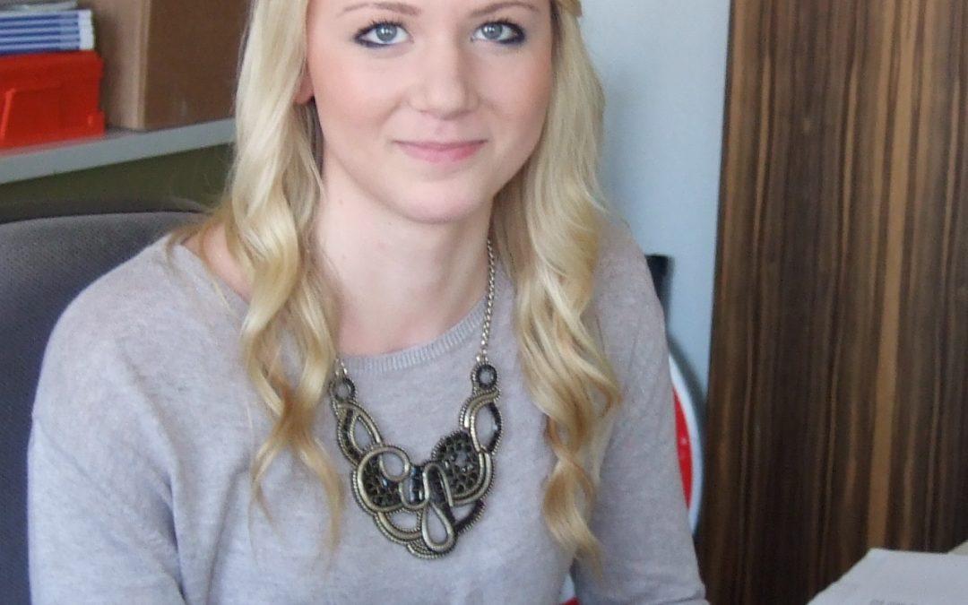 Interview mit Melanie Spatzier, Kauffrau für Büromanagement im 1. Lehrjahr
