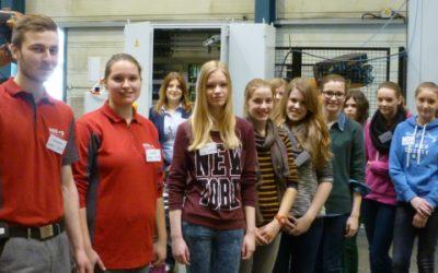Girls' Day bei MBB Fertigungstechnik GmbH in Beelen