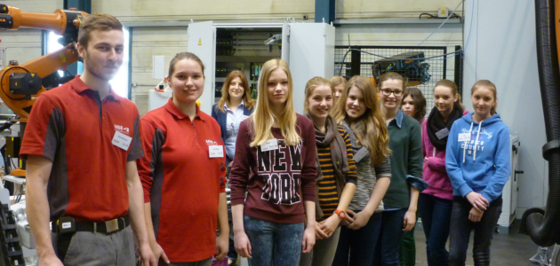 Girls' Day bei MBB Fertigungstechnik GmbH in Beelen