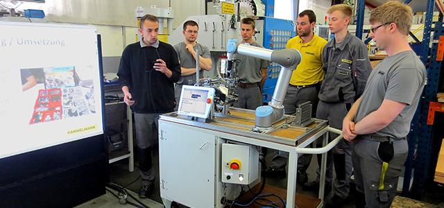 """Hammelmann-Ausbildungsprojekt """"Robot Engineering"""""""