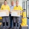 Jonas Huckebring aus Oelde und Fabian Stoffers aus Rheda-Wiedenbrück haben bei der Hammelmann GmbH erfolgreich ihre Ausbildung zum Mechatroniker bzw. zum Industriemechaniker abgeschlossen. Sie werden jetzt in den entsprechenden Fachabteilungen […]
