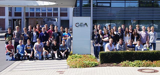 Ausbildungsstart bei GEA in Oelde