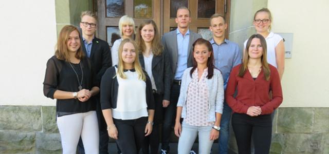 Zum 31.08.2016 haben wieder sechs Finanzanwärter und vier Steueranwärter beim Finanzamt in Beckum ihre Ausbildung begonnen.