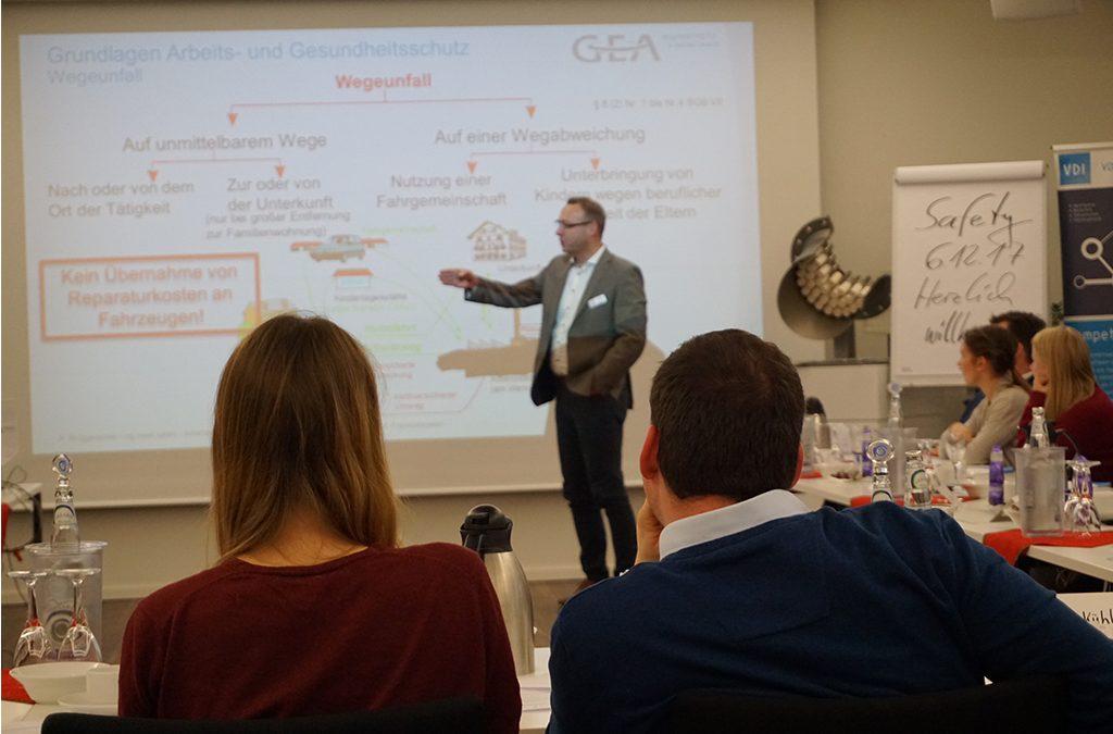 ing.meet.safety zu Gast bei GEA in Oelde