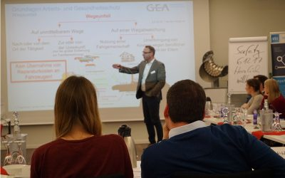 ing.meet.safety zu Gast bei GEA in Oelde